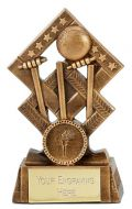 Cube Cricket Trophy Award 4.5 inch (11.5cm) : New 2020