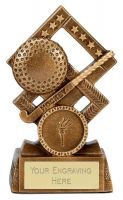 Cube Clayshooting Trophy Award 4.5 inch (11.5cm) : New 2020