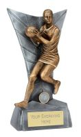 Delta Netball Trophy Award 6 Inch (15cm) : New 2020