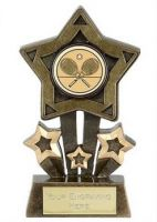 Mini Star Holder4 Award Aggt 4.25 Inch