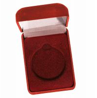 Medal Award Case50 Red Velvet 50mm Recess : New 2020