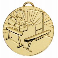 Target50 Gymnastics Medal Award 2 inch (50mm) Diameter : New 2020