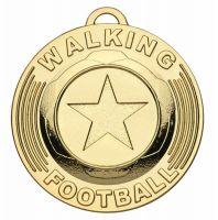 Target50 Walking Football Trophy Award Medal - Gold - 50mm diameter- New 2018