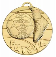 Target50 Futsal Medal - Gold - 50mm Diameter- New 2018