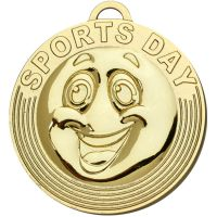 Target Sports Day Medal - Gold - 50mm Diameter- New 2018