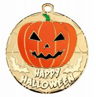 Halloween Medal 2 Inch (50mm) Diameter - New 2019
