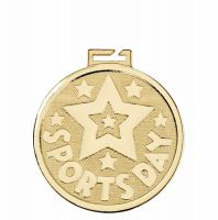 Aura Sports Day Star 2 Inch (50mm) Diameter - New 2019