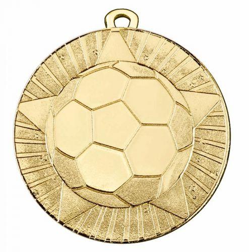 State Star 50mm Football Medal 2 Inch (50mm) Diameter - New 2019