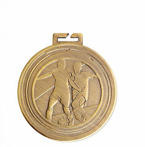 Aura Football Medal 2 Inch (50mm) Diameter - New 2019