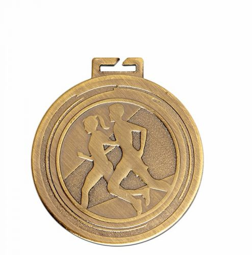 Aura Unisex Running Medal 2 Inch (50mm) Diameter - New 2019