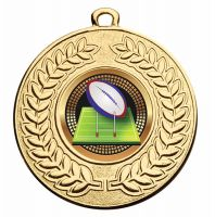 Contour 50 Rugby Medal 2 Inch (50mm) Diameter - New 2019
