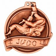 Halo Judo Personalised Medal 2 1 8 Inch (55mm) Diameter - New 2019