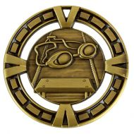 Varsity Sports Medal Award Swimming 2 3/8 Inch (60mm) Diameter : New 2020