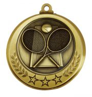 Spectrum Tennis Medal Award 2.75 Inch (70mm) Diameter : New 2020