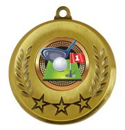 Spectrum Golf Medal Award 2 Inch (50mm) Diameter : New 2020