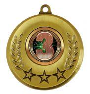 Spectrum 3rd Place Medal Award 2 Inch (50mm) Diameter : New 2020