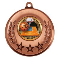 Spectrum Basketball Medal Award 2 Inch (50mm) Diameter : New 2020
