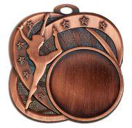 Sports Logo Medal Award Dance 2.75 Inch (70mm) Diameter : New 2020