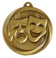 Globe Medal Award Drama 2 Inch (50mm) Diameter : New 2020