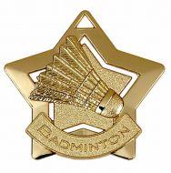 Mini Star Badminton Medal