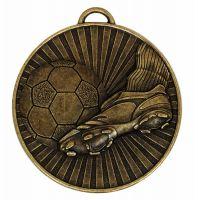 Helix60 Football Boot and Balll Bronze 60mm