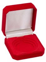 Red Velvet Medal Award Box 50/60/70 For 50/60/70mm Medals : New 2020