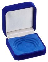 Blue Velvet Medal Award Box 50/60/70 For 50/60/70mm Medals : New 2020