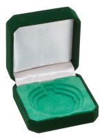 Green Velvet Medal Award Box 50/60/70 For 50/60/70mm Medals : New 2020