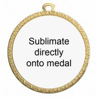 Personalised 50mm Medal Award 2 Inch (50mm) Diameter : New 2020