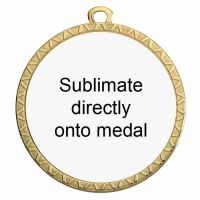 Personalised 70mm Medal Award 2.75 Inch (70mm) Diameter : New 2020