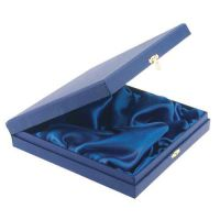 Blue Presentation Box For Salvers Fits 4in Salver