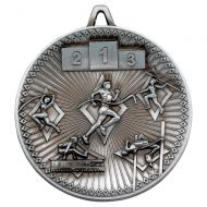 Athletics Deluxe Medal Antique Silver 2.35in : New 2019