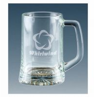 Trojan Glass Tankard 1 Pt Glass 1 Pint