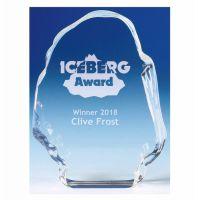 Iceberg. Glass