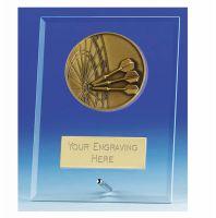 Vision Darts Glass Award Plaque 6 Inch (15cm) : New 2020