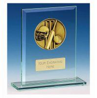 Vision Cricket Glass Award Award 5 Inch (12.5cm) : New 2020