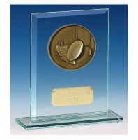 Vision Rugby Glass Award Award 5 Inch (12.5cm) : New 2020