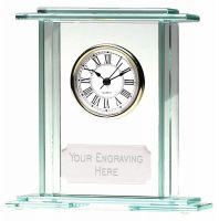 Eternity Jade Clock