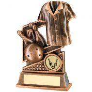 Bronze/Gold Ten Pin Diamond Series Trophy 4.75in