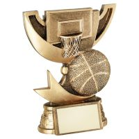 Bronze Gold Presentation Cup Range For Basketball Trophy Award 5in : New 2020