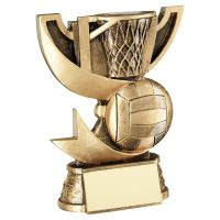 Bronze Gold Presentation Cup Range For Netball Trophy Award 4.25in : New 2020