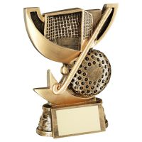 Bronze Gold Presentation Cup Range For Hockey Trophy Award 5in : New 2020