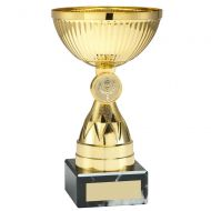 Gold Mini Diamond Stem Trophy 5in - New 2019
