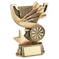 Bronze Gold Presentation Cup Range For Darts Trophy Award 6in : New 2020