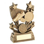 Bronze Gold Shooting Star Series Athletics Trophy Award 4in : New 2020