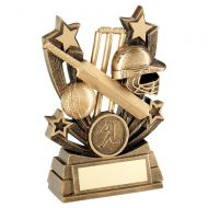 16 x Cricket Trophies 5in (RRP £159.84) Job Lot FREE Engraving Clearance