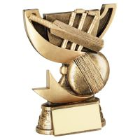 Bronze Gold Presentation Cup Range For Cricket Trophy Award 5in : New 2020