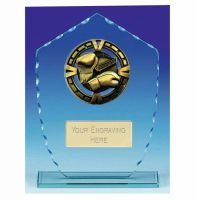 Varsity Boxing Glass Award Trophy 6.25 Inch (16cm) : New 2020