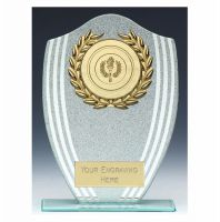 Sparkle Shield Trophy Award 6.5 Inch (16.5cm) - New 2019
