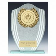 Sparkle Shield Trophy Award 7.25 Inch (18.5cm) - New 2019